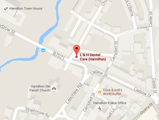L&H Dentalcare Location Map
