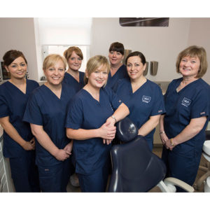 The hygienists at L&H Dentalcare